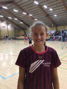 Ida Janum Riis ung badmintonspiller