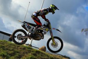 Racerkører fra Dm Motocross-serien