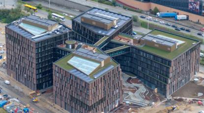 Kontorhus på Kalvebod Brygge